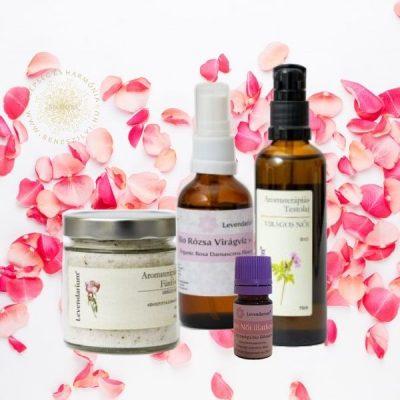 Rózsás és virágos készítmények