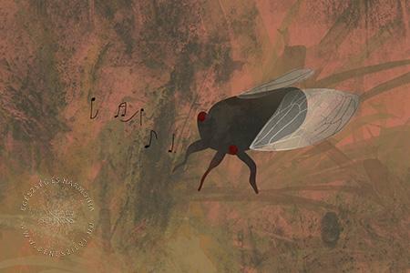 Az igazságtévő kócsag madár - mese animáció