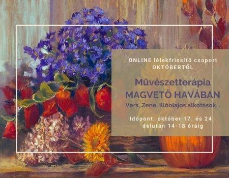 Művészetterápia MAGVETŐ HAVÁBAN - Online Kreatív Selfness Tréning